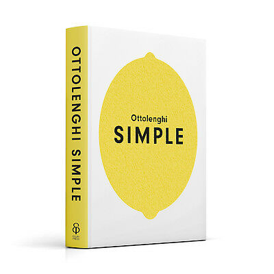 Ottolenghi SIMPLE - Chef Yotam Ottolenghi Easy Recipe Cookbook - Hardback Book