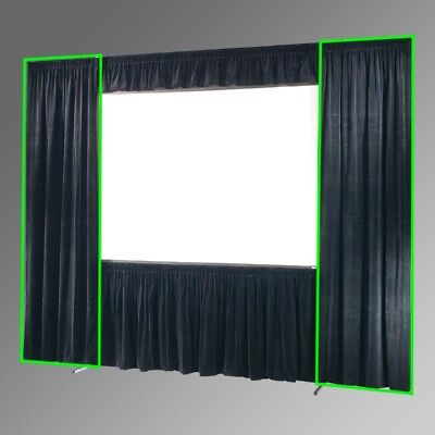 DRAPER 220274 - IFR SIDE/WING DRAPES FOR 7.5'x10' UFS ULTIMATE FOLDING SCREEN