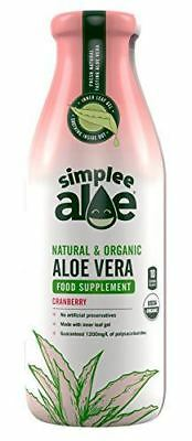 Simplee Aloe Simplee Aloe Health Supplement - Cranberry Flavour