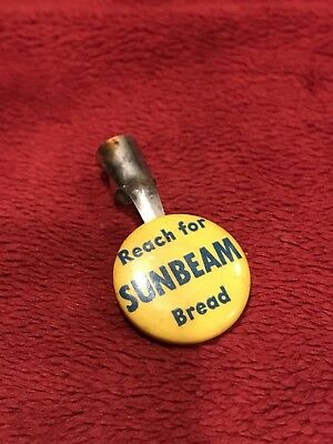 Vintage Pencil Clip, Reach For Sunbeam Bread, NOS, Multiple Available.