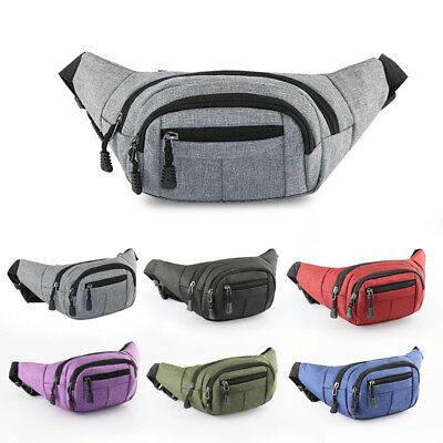 Outdoor Travel Cycling Hiking Bag Fanny Pack Waist Belt Bag Purse Hip Pouch