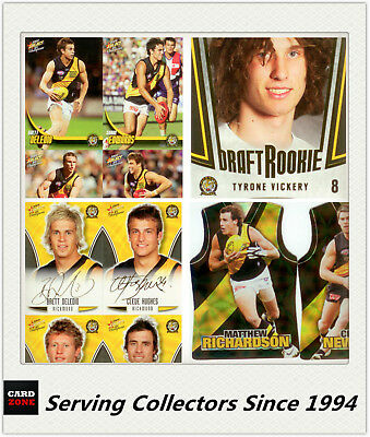 AFL Trading Card MASTER Team Collection-RICHMOND-2009 Select AFL Champions
