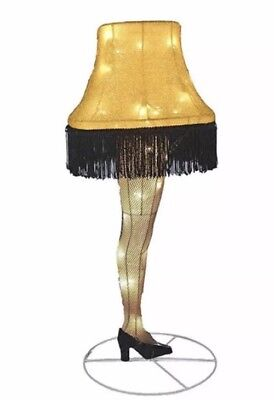 Home Decor Leg Lamp from A Christmas Story Indoor Outdoor lighting 28 Inch New
