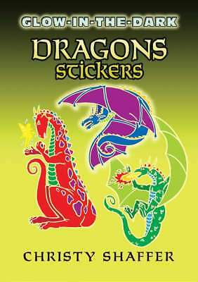 Dover Publications Glow-In-The-Dark Dragon Stickers 800759462131