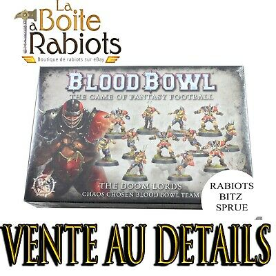 Warhammer Blood Bowl The Doom Lords Equipe du Chaos