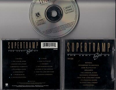SUPERTRAMP The Very Best Of 1989 CD A&M  GERMANY