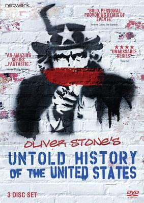 Oliver Stone's Untold History of the United States - DVD NEW & SEALED (3 Discs)
