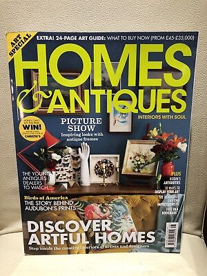 Homes and Antiques house/lifestyle/interiors magazine, Art Issue 2018