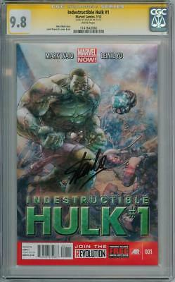 Indestructible Hulk #1 Cgc 9.8 Signature Series Signed Stan Lee Marvel Comics