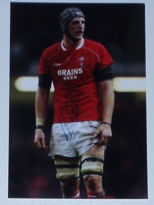 Luke Charteris Wales Rugby Personally Hand Signed Autograph Photo