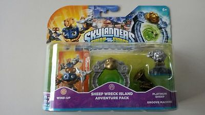 Skylanders Swap Force - Sheep Wreck Island Adventure Pack  - NEU & OVP