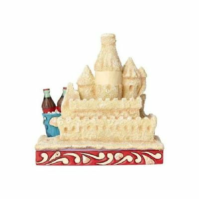 Jim Shore Coca Cola Building Memories Sand Castle Classic Ad Figurine 6000997