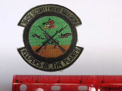 Military - USAF 384th Security Police Squadron Patch - Vintage - (Subdued Style)