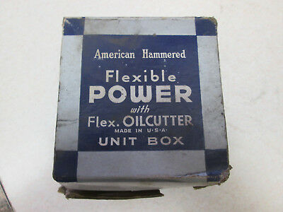 American Hammered Flexible Power with Flex Oilcutter Unit Box Piston Rings Set