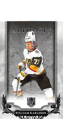 2018-19 Upper Deck Artifacts Hockey Cards Pick From List (Rookies, Legends, SPs)