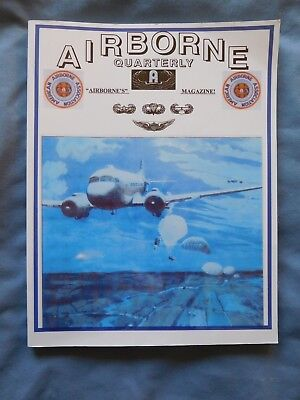Airborne Quarterly Fall/Win 2002 Magazine WWII N. Africa Vietnam Gliders