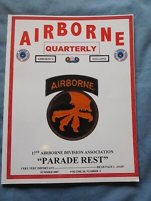 Airborne Quarterly Su 2007 Magazine WWII Russian Paratroops Viet Nam 187th Korea