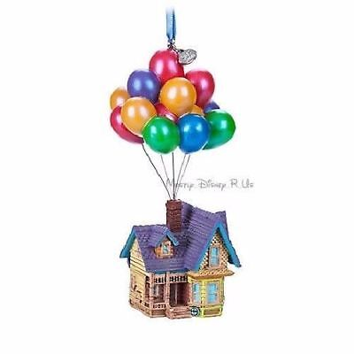 Disney Store Up House Balloons Sketchbook Christmas Tree Holiday Ornament 2018