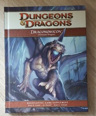 ++ Draconomicon Chromatic Dragons 4e ++ D&D 4 th Edition, 4e Dungeons & Dragons