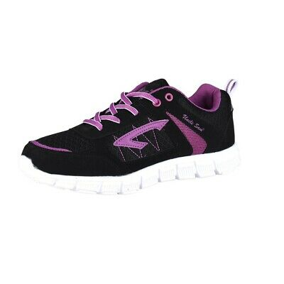 Uncle Sam Men's Lightweight Running Shoes Black/Violet