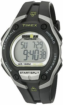 """Timex Men's T5K412 """"Ironman Traditional"""" 30-Lap Oversize Watch with Black Resin"""