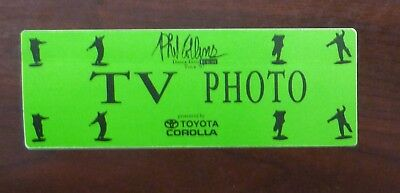 Phil Collins - Dance Into Europe Tour 1997 - TV / Photo Pass - VIP - unbenutzt