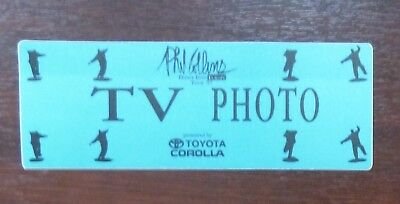 Phil Collins - Dance Into Europe Tour 1997 - TV / Photo Pass - VIP