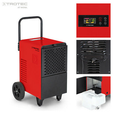 TROTEC Déshumidificateur d'air professionnel TTK 166 ECO | Mobile | Humidité