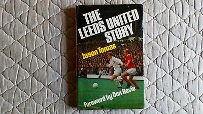The Leeds Utd Story Hardback Book By J.tomas Signed By Gray & Jones & Hunter