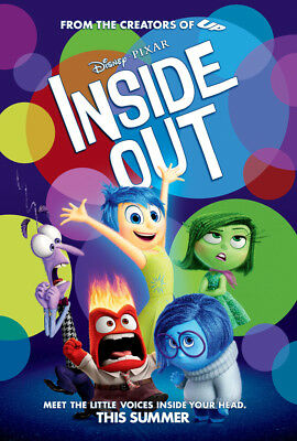 Inside Out - original DS movie poster  D/S 27x40 - INTL Final