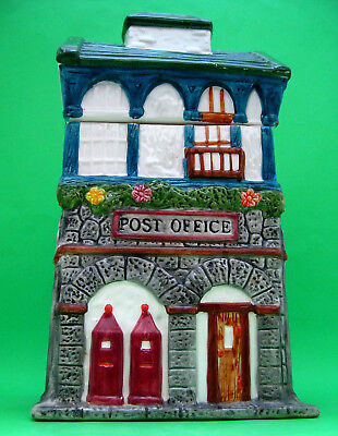 Cookie Jar - POST OFFICE BUILDING ~  Mercuries 1995 CERAMIC