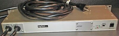 Baytech Ats12 L5-20P 120V 20A 1U 12-Outlet Transfer Switch