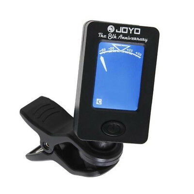 JOYO JT-01 Digital Chromatic Clip-on Acsoutic Guitar Tuner Bass Violin