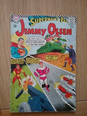 DC Silver Age Comic SUPERMAN'S PAL JIMMY OLSEN 99 (1967) £4.99 Post Free UK