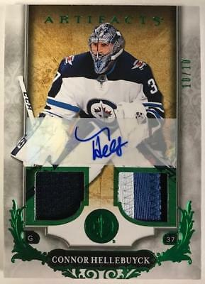 2018-19 Upper Deck Artifacts Autographed Material Jersey or Patch Pick From List