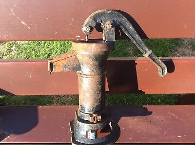 Vintage Cast Iron Hand Water Pump - Garden Feature / Garden Water Pump