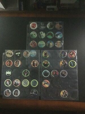 Lot of Batman Forever Pogs (27) + Holiday Inn Animal pogs (12) + 1 Coca Cola Pog