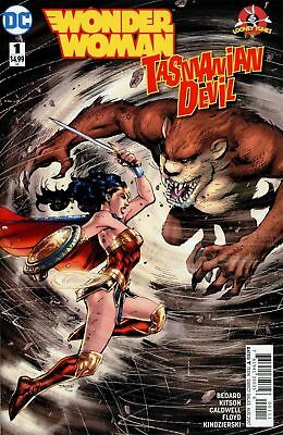 Wonder Woman Tasmanian Devil #1 (NM) `17 Bedard/ Kitson  (Cover A)