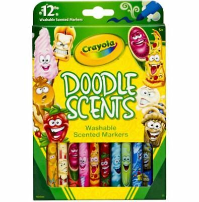 Crayola Washable Doodle Scents Markers - 12 pack