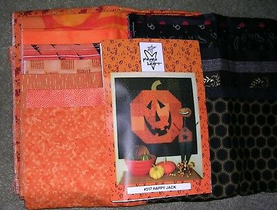 """Happy Jack"" Quilt Kit by pieces from my heart"