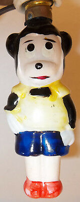 RARE Antique Disney Christmas Figural Bulb MICKEY MOUSE WORKS