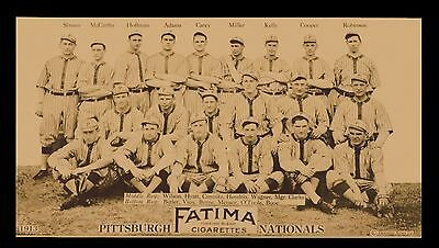 1913 Pittsburgh Pirates Team Picture - Honus Wagner Baseball Team Print