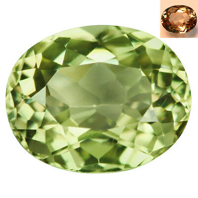 1.89Ct Mesmerizing Oval Cut 8 x 7 mm AAA Color Change Turkish Diaspore