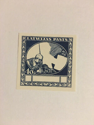 Latvia First Independence First Aid Proof 40 kap Set 1