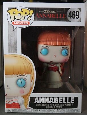 POP FUNKO MOVIES  469 ANNABELLE from THE CONJURING ANNABELLE ... 363ddbe43f7
