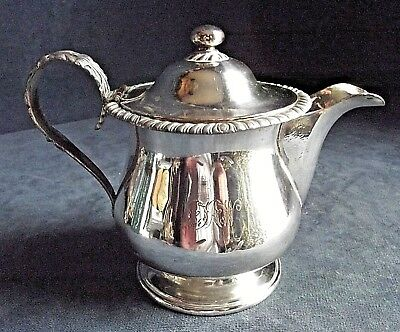 "SUPERB 6"" ~ Sheffield SILVER Plate ~ GEORGIAN ~ Lidded JUG ~ c1825"