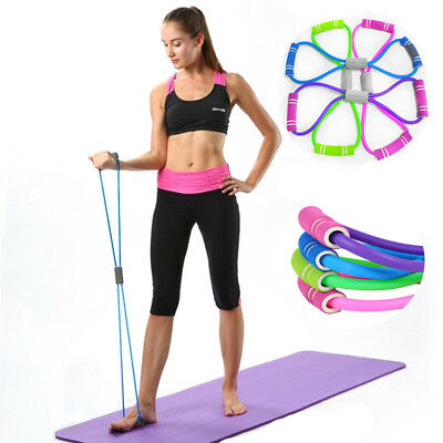Yoga Pilates Pull Rope Elastic Bands Gym Fitness Rope Resistance Bands Exercise