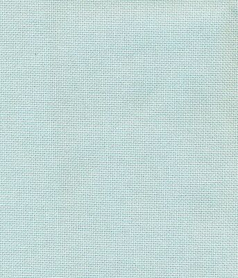25 count Zweigart Lugana Fabric Ice Blue Fat Quarter - 49 x 70cm