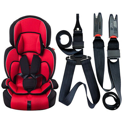 Car Vehicle Infant Baby Safety Seat Strap Kit ISOFIX Latch Belt Fixing Connector