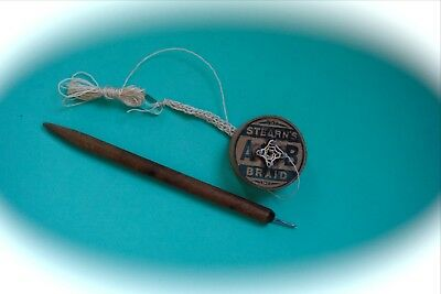 Vintage French Knitter * Cord & String Maker * Stearn`s Braid